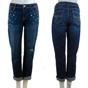 Jordache Skinny Jeans with Pearl Accents NEW!!!